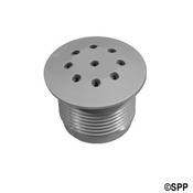 "Air Injector Cap Waterway Top-Flo 1-1/8"" H Thrded Gray Waterway - Item 215-2187"