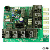 "PCB Len Gordon LX-15"" (Rev5"" .31) SBSG (P1-P2-BL-OZ-LT) 8 Conn Ph Plug - Item 3-60-0119"