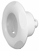 "Jet Handle Micro Adjustableustable VSR 3-1/8"" F 5"" -Scalloped White - Item 36-9100"