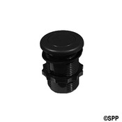 "Air Button Therm Product Flush Btn 1""1/4"" H 1-5/8"" F 2L Black - Item 50-00602"