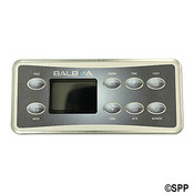 Spaside Control, Balboa Deluxe, Old Style, 8-Button, Program-Wrm-Tme-Lt, ... - Item 50799