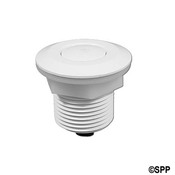 "Air Button Herga Mushroom Flush Mt 2-1/4"" F Black - Item 6438-White"