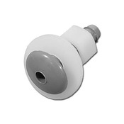 "Air Injector Waterway Button Style 1/4"" B Gray Waterway 3/8"" Hole Size - Item 670-2137"