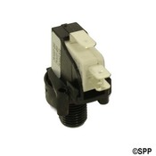 Air Switch Latching Herga SPDT 20 Amp Center Spout - Item 6871