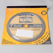 Tool Saw Blade 7Diamond Masonry Turbo - Item 91107030B