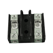 "Terminal Strip 2 Positions 5"" 0Amp - Item EB-320"