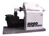 "Equipment System Air ES805"" 0 240V 5"" .5"" kW P1=1.5"" HP with Trap - Item ES8050-D"