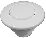 "Air Button Len Gordon Classic Touch 1-3/8"" H 1-3/4"" F 2L White - Item LG15-White"