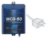 DEL Ozone MCD-50 High-Output Spa Ozone Generator 1,000 Gallons 120V-240V Mini ... - Item MCD-50U-13