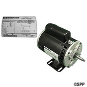 Pump Motor Marathon Thru-Bolt 48YFr 1Spd 1HP 230V 4.3Amps - Item RB723