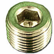 "Socket Plug Hex 1/8"" -27 304SS - Item RME-4452K541"