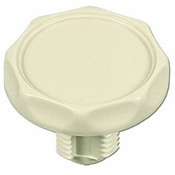 "Air Control Knob Scallop.1"" Plumbing with 1-5/8"" H Bone - Item SA-4159-K"