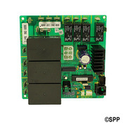 "PCB LX-10 (Rev 3.5"" 4+) with 3 Big Relay - Waterways (1998 +) 1"" Pump - Item SD6600-286"