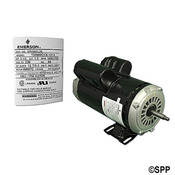 Pump Motor Emerson Thru-Bolt 48YFr 2Spd 3HP 230V 12.7/3.4A - Item SPH30FL2S