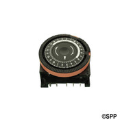 "Time Clock Diehl 24HR 120V 16"" Amp SPDT 5"" Term. Red - Item TA4079"
