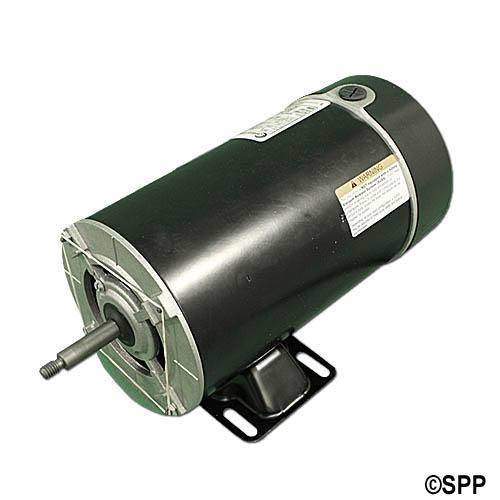 Pump motor waterway thru bolt 48yfr 2spd 1 for Cheap pool pump motors