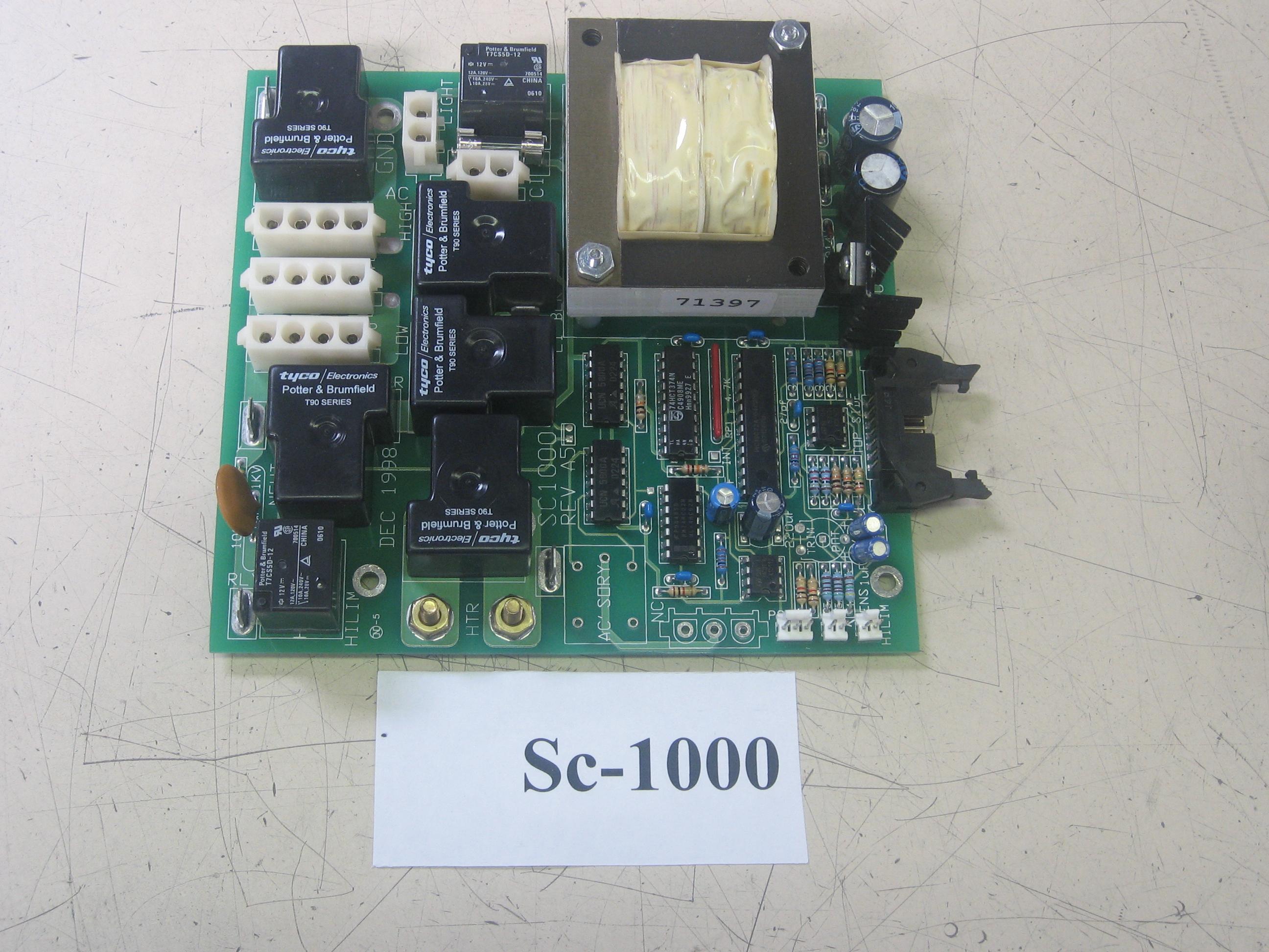 PCB ACC SC1000 (P1-BL/P2-OZ-LT) Ribbon Style Cable