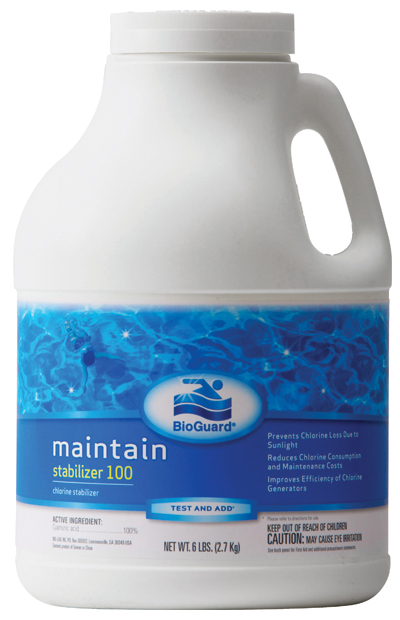 Bioguard Swimming Pool Chlorine Stabilizer 100 6 Lb