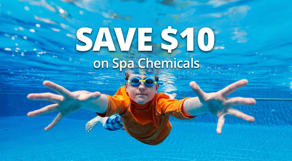 Save $10 On All Spa Chemicals